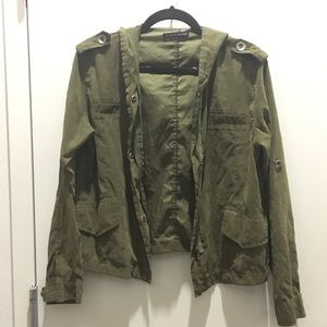 Brandy Melville Casual Army Jacket